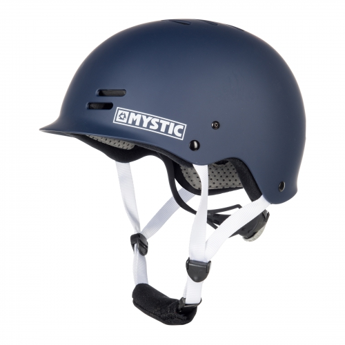 FEATURES - CE approved: CE EN 1385 - Designed for watersports only - Adjustable headstrap - Detachable fit mesh pads - Lightweight outer shell with ventilation holes - Small brim - Quick release chin closure FABRICS - High impact thermo plastic