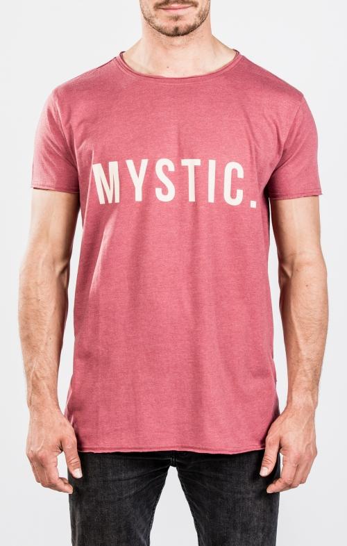 2018 Mystic Skim T-paita Red Dark Melee
