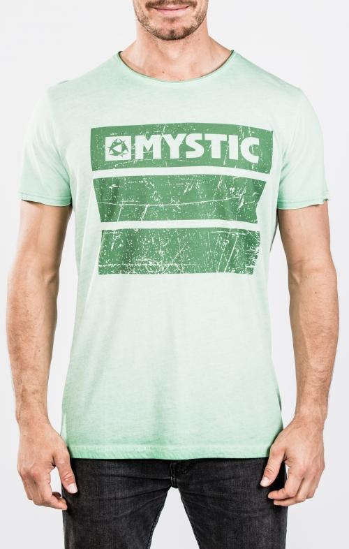 2018 Mystic Concrete T-paita Green
