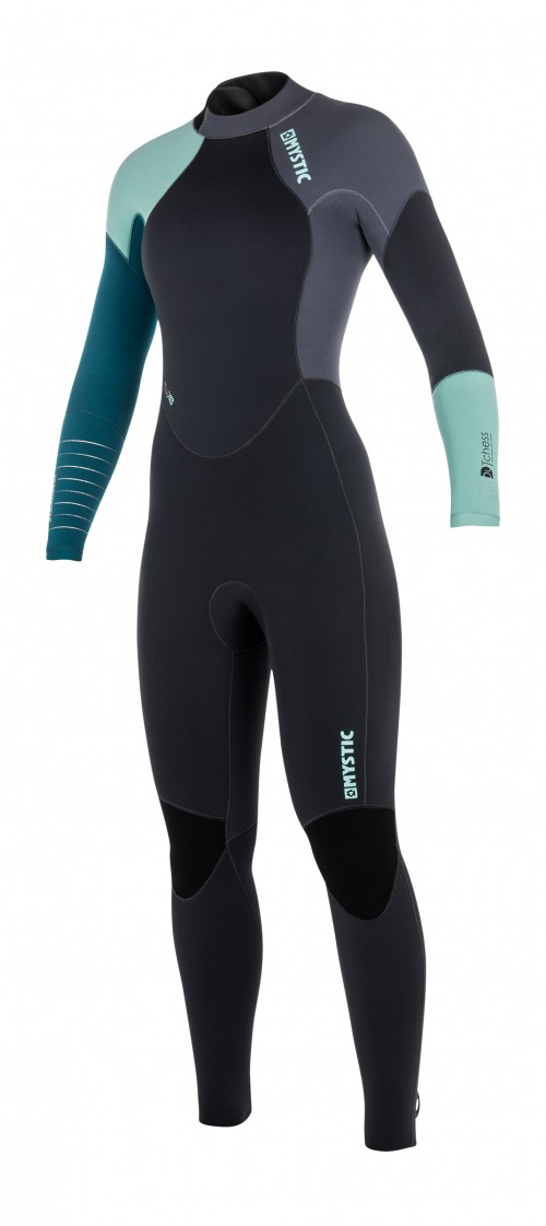 FEATURES<br /> - Critical taping inside<br /> - GBS (Glued Blind Stitched)<br /> Glideskin double neck construction<br /> 4-way stretch kneepads<br /> Hook and loop closure<br /> Non slip cuffs<br /> Lining saver<br /> Overhead backup<br /> Key pocket<br /> Aquaflush<br /> Back-zip<br /> FABRICS<br /> - Polar lining on chest & back<br /> - M-Flex 100%