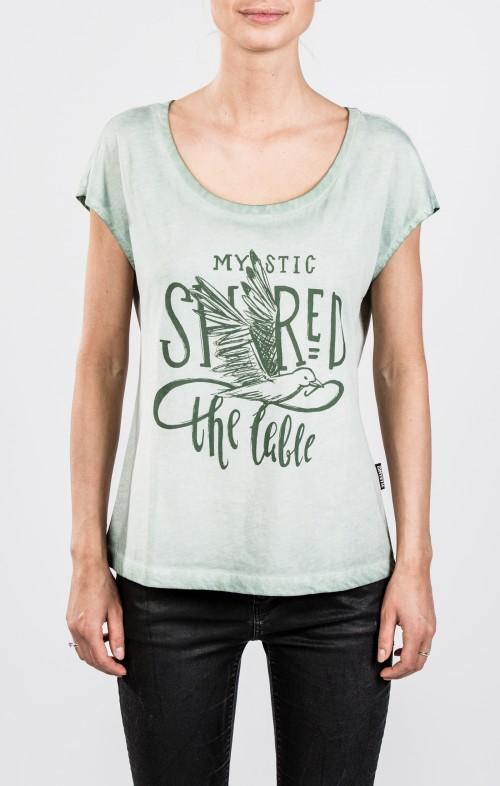 2018 Mystic Lucid Tee Women Brave Green