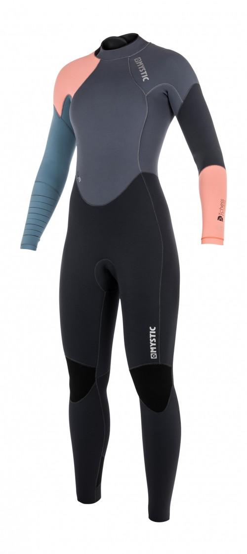FEATURES - Critical taping inside - GBS (Glued Blind Stitched) Glideskin double neck construction 4-way stretch kneepads Hook and loop closure Non slip cuffs Lining saver Overhead backup Key pocket Aquaflush Back-zip FABRICS - Polar lining on chest & back - M-Flex 100%