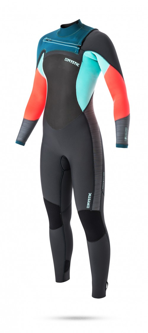 FEATURES<br /> - GBS (Glued Blind Stitched)<br /> - Waterproof stretch taping inside<br /> Mesh neoprene chest panel<br /> Mesh neoprene back panel<br /> Fine Mystic zip<br /> Glideskin thin neck construction<br /> Aquabarrier<br /> 4-way stretch kneepads<br /> Hook and loop closure<br /> Non slip cuffs<br /> Key pocket<br /> Aquaflush<br /> FABRICS<br /> - M-Flex 2.0 neoprene (100%)<br /> - Polar lining on chest & back parts
