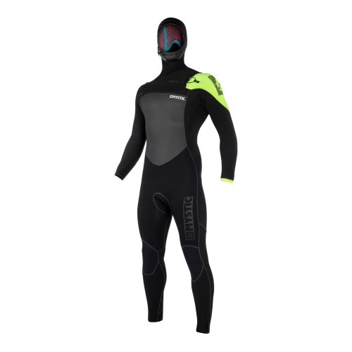 FEATURES<br /> - Power seamed outside<br /> - Waterproof stretch taping inside<br /> Mesh neoprene chest panel<br /> Mesh neoprene back panel<br /> Fine Mystic zip<br /> Glideskin thin neck construction<br /> Aquabarrier<br /> 4-way stretch kneepads<br /> Hook and loop closure<br /> Non slip cuffs<br /> Key pocket<br /> Aquaflush<br /> FABRICS<br /> - Quick dry lining on chest, back & lower body<br /> - M-Flex 2.0 (100%)