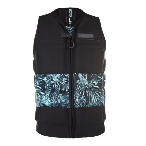 Mystic Shred Impact Vest Fzip Wake Black suojaliivi