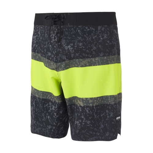 """<h3><strong>Features</strong><br /> <span style=""""font-size:12px"""">- 95% Recycled polyester / 5% Elastane</span><br /> <span style=""""font-size:12px"""">- 4 way stretch</span><br /> <span style=""""font-size:12px"""">- Allover print</span><br /> <span style=""""font-size:12px"""">- M-Fly</span><br /> <span style=""""font-size:12px"""">- Motion 3D waistband</span><br /> <span style=""""font-size:12px"""">- Motion sideseam</span><br /> <span style=""""font-size:12px"""">- Blind zip pocket with keycord at wearer's left sideseam</span><br /> <span style=""""font-size:12px"""">- Outseam 18</span></h3>"""