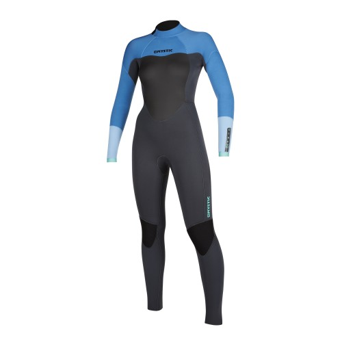 """<h3>FEATURES</h3><p>- GBS (Glued Blind Stitched)<br /> - Junction taping inside<br /> - Wind Mesh chest panel<br /> - Glideskin double neck construction<br /> - Hex-tech kneepads<br /> - Velcro ankle straps compatible<br /> - Non slip cuffs<br /> - Overhead backup shield<br /> - Lining saver<br /> - Back-zip</p><div><span style=""""font-size:15px"""">GBS (Glued Blind Stitched)</span><img alt="""""""" height=""""150"""" src=""""https://www.mysticboarding.com/cache/images/webshop/1-mystic-wetsuit-glued-blind-stitched.jpg"""" width=""""251"""" /><p>Stitching method whereby the panels are first glued together and then only stitched halfway through the fabric instead of fully perforating it, which makes the seams waterproof.</p></div><h3>FABRICS</h3><p>- M-Flex (100%)<br /> - Fox Fleece in chest & back</p>"""
