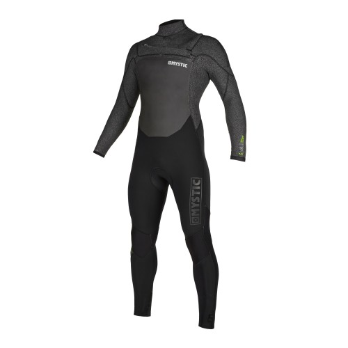 """<h3>FEATURES</h3><p>- Waterproof stretch Flaremesh taping (100%): all seams<br /> - GBS (Glued Blind Stitched)<br /> - Wind Mesh chest panel<br /> - Wind Mesh back panel<br /> - Fine Mystic zip<br /> - Aquabarrier<br /> - Hex-tech kneepads<br /> - Velcro ankle closure straps (included)<br /> - Non slip cuffs<br /> - Key pocket2.0: keyloop with mini-buckle<br /> - Aquaflush<br /> - Front-zip</p><div><span style=""""font-size:15px"""">Waterproof stretch Flaremesh taping (100%): all seams</span><img alt="""""""" height=""""150"""" src=""""https://www.mysticboarding.com/cache/images/webshop/1-waterproof-flaremesh-taping-100.jpg"""" width=""""249"""" /><p>Flaremesh lining has a carbon backing and is topped with big terry loops creating a high profile for extra insulation and a soft touch. This high durable taping is used inside the suit to avoid leaking and to keep it flexible and warm.</p></div><h3>FABRICS</h3><p>- M-Flex 2.0 (100%)<br /> - Knitflex<br /> - Flaremesh in chest, back & lower body<br /> - Fox Fleece in all other panels</p>"""