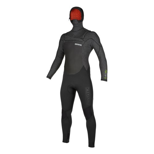 """<h3>FEATURES</h3><p>- Waterproof stretch Flaremesh taping (100%): all seams<br /> - GBS (Glued Blind Stitched)<br /> - Wind Mesh chest panel<br /> - Wind Mesh back panel<br /> - Fine Mystic zip<br /> - Aquabarrier<br /> - Hex-tech kneepads<br /> - Velcro ankle closure straps (included)<br /> - Non slip cuffs<br /> - Key pocket2.0: keyloop with mini-buckle<br /> - Fixed hood (Hooded)<br /> - Aquaflush<br /> - Front-zip</p><div><span style=""""font-size:15px"""">Waterproof stretch Flaremesh taping (100%): all seams</span><img alt="""""""" height=""""150"""" src=""""https://www.mysticboarding.com/cache/images/webshop/1-waterproof-flaremesh-taping-100.jpg"""" width=""""249"""" /><p>Flaremesh lining has a carbon backing and is topped with big terry loops creating a high profile for extra insulation and a soft touch. This high durable taping is used inside the suit to avoid leaking and to keep it flexible and warm.</p></div><h3>FABRICS</h3><p>- M-Flex 2.0 (100%)<br /> - Knitflex<br /> - Flaremesh in chest, back & lower body<br /> - Fox Fleece in all other panels</p>"""