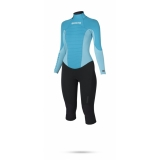 Fabrics<br /> - M-Flex neoprene (50%)<br /> - Polar lining on chest & back parts<br /> - Soft touch neoprene (50%)<br /> Features<br /> - 100% GBS (Glued Blind Stitched)<br /> - Critical taping inside<br /> - Glideskin double neck construction<br /> - Backup shield<br /> - 4-way stretch kneepads<br /> - Key pocket<br /> - Lining saver
