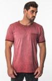 FEATURES<br /> - 160 g/m2, mid weight jersey<br /> - Loose fit, wide neck<br /> - Cold garment dye<br /> - Roll up sleeves<br /> FABRICS<br /> - 100% Cotton